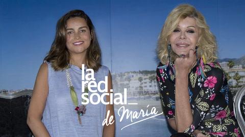 Bibiana Fernández en La Red Social de María: \'En soledad también se puede vivir\'