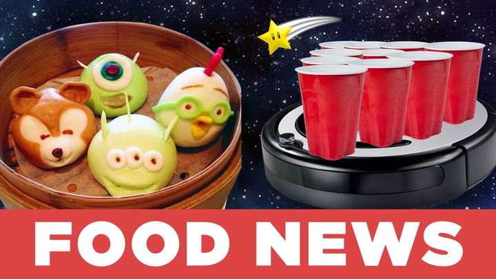 Disney Dim Sum and Roomba Beer Pong