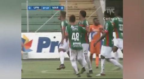 Gol de Yoshua Vargas al UPN  (Liga Nacional 2017)