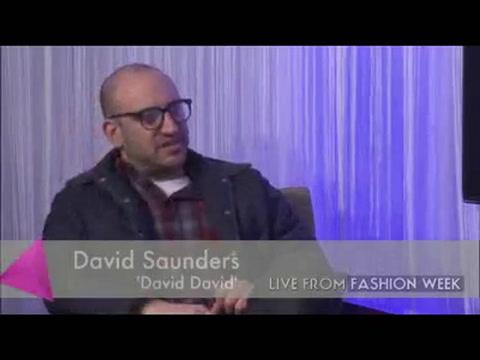 Interview: David David designer David Saunders