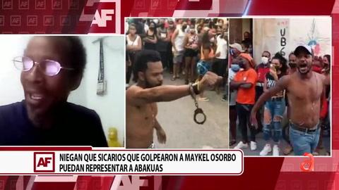 Niegan que sicarios que golpearon a Maykel Osorbo puedan representar a Abakuas