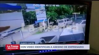 Así fue captado en video el sicario que asesinó al dirigente del Platense, Geovanni Santos