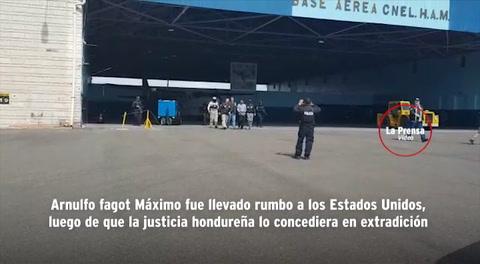 Arnulfo Fagot Máximo es extraditado hacia USA