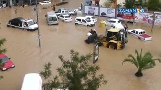 Manavgat sular altında kaldı