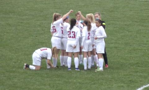 Lutheran vs. Pleasant Plains Girls Soccer