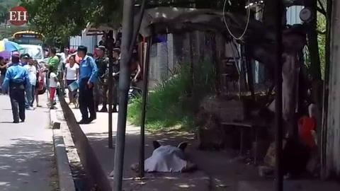 Matan a un taxista en la entrada a colonia Los Pinos de la capital