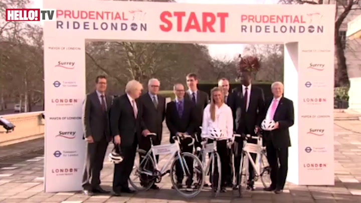 Laura Trott and Boris Johnson team up to launch a new cycling festival