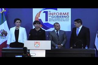 Ramiro Cortez rinde Primer Informe