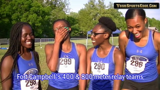 Fort Campbell Relay Teams on their Success