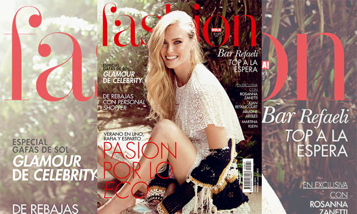 Bar Refaeli, una \'top\' a la espera en la portada de H! FASHION