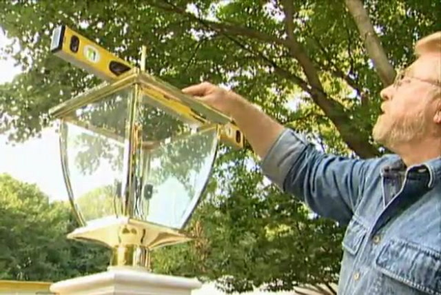 Stupendous How To Put A Lamp Post Outdoors And Wire It Ron Hazelton Wiring 101 Ariotwise Assnl