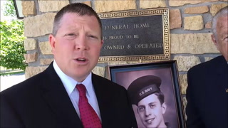 Peterson Brothers Funeral Director Lance Peterson talks about plans for the return of Willmar native John E. Anderson tonight. Anderson will be remember in a memorial service and laid to rest Saturday.