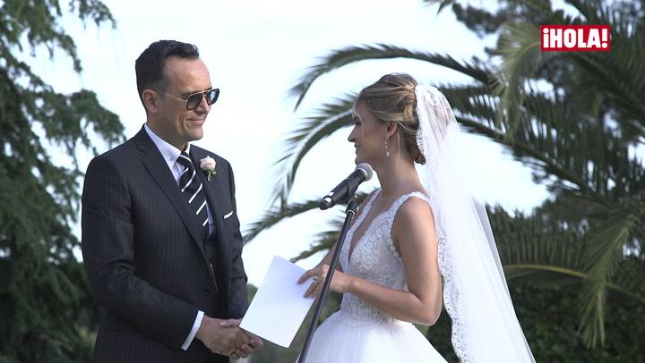 En vídeo: Risto Mejide y Laura Escanes se dicen un millón de veces \'sí, quiero\'