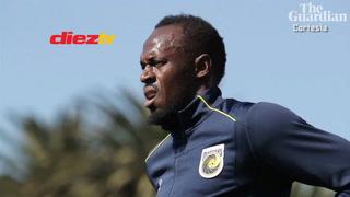 ¿En qué posición juegas como futbolista?, así contestó Usain Bolt