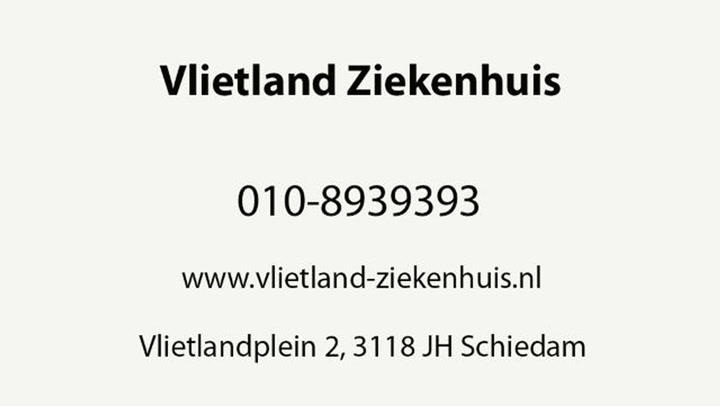 Vlietland Ziekenhuis - Video tour