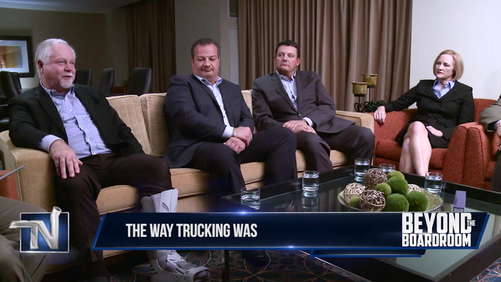 Beyond Your Boardroom - Video: The Way Trucking Was