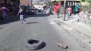 Sin salida los pobladores de la colonia capitalina La Ulloa