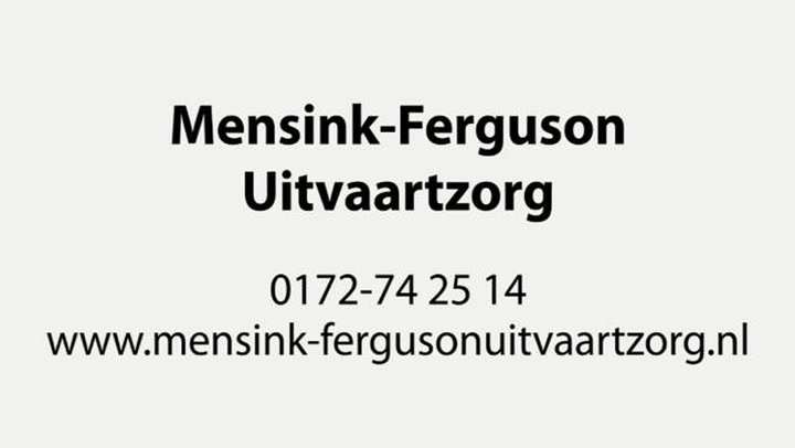 Mensink-Ferguson Uitvaartzorg - Bedrijfsvideo