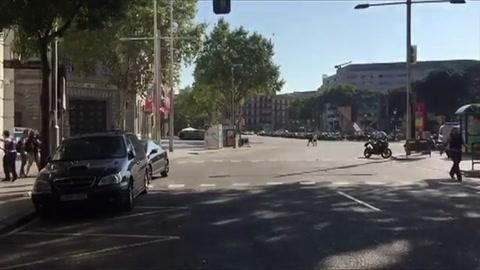 13 muertos y más de 50 heridos por atentado en Barcelona