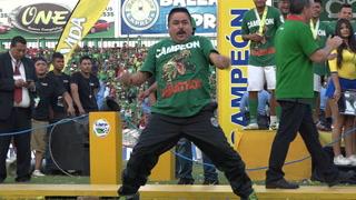 La épica celebración del utiliero del Marathón que emocionó a toda la afición verdolaga
