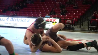 VIDEO: Class 4 District Wrestling Championships