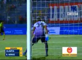 Olimpia 2-0 Real de Minas (Liga Nacional 2018)