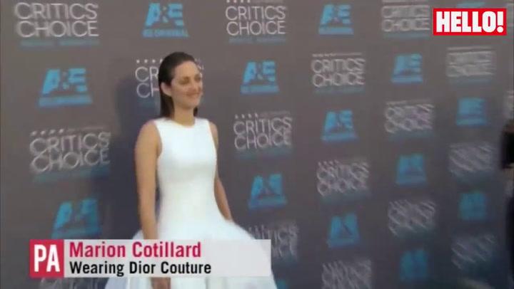 Red carpet: the Critics\' Choice Awards