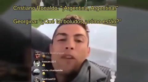 Cristiano Ronaldo sorprende a los argentinos con peculiar mensaje