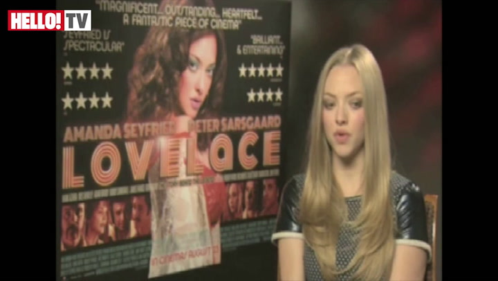 Amanda Seyfried talks about her new film Lovelace