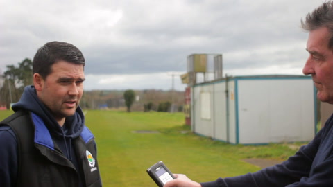 Video: David Healy sets sights on Irish Cup Final triumph