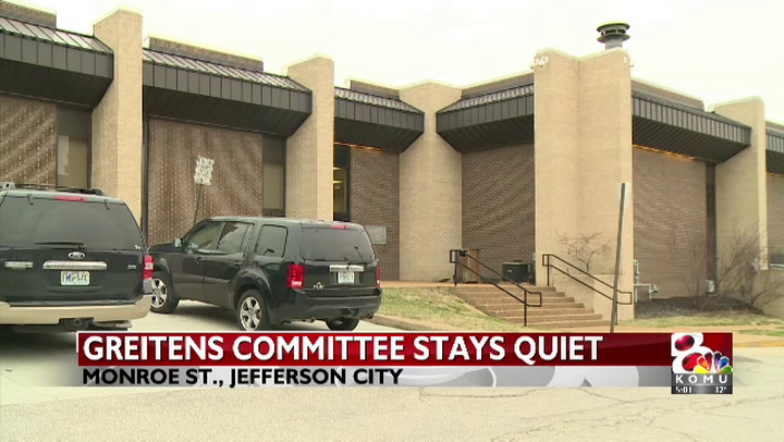 Greitens investigation committee stays tight-lipped