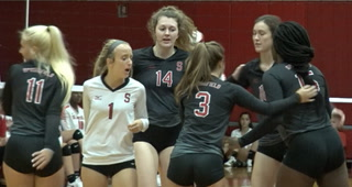 Springfield High vs Glenwood Volleyball