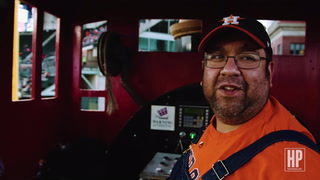 Bobby Dynamite, Astros Train Conductor