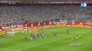 Barcelona 3-1 Alavéz (Copa del Rey)
