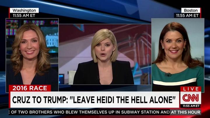 Promptly derailing a CNN segment.