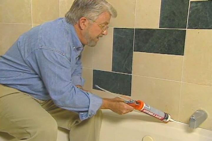 How To Remove And Replace Bathtub Caulk DIY Projects Videos - How to replace a bathtub in a small bathroom