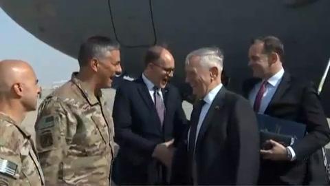 El jefe del Pentágono llega a Irak