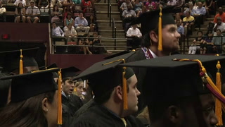 Student-Veterans honored during graduation