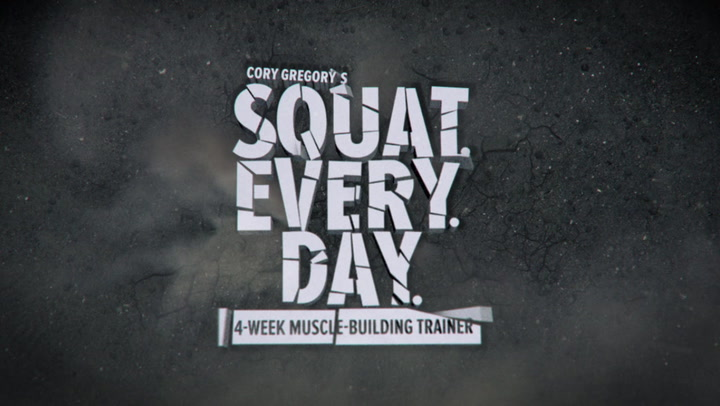 Cory Gregory's Squat Every Day Trainer: 30 Second Promo - Bodybuilding.com