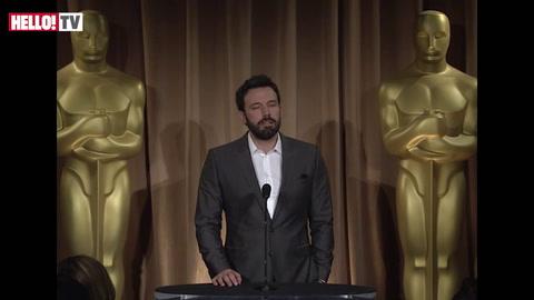 Ben Affleck on his love for his film Argo Part II