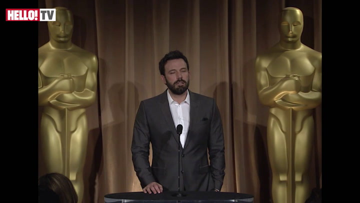 Ben Affleck on his love for his film Argo Part II