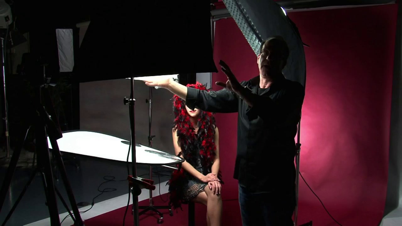 Clamping a Softbox