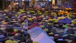 Líderes de la 'Revolución de los paraguas' serán procesados