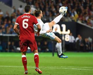 ¡Chilena de ensueño! Gareth Bale anota el gol de su vida en la final de la Champions League ante el Liverpool