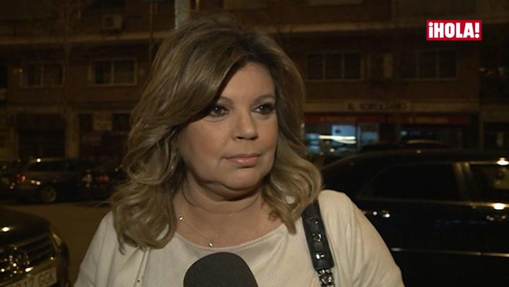 Terelu Campos, preocupada por el incendio que ha sufrido el gimnasio de José Valenciano