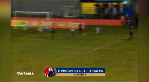 Honduras Progreso 4 - 3 Juticalpa (Liga Nacional)