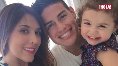 Daniela Ospina, mujer de James Rodríguez, abre su corazón a ¡HOLA! TV