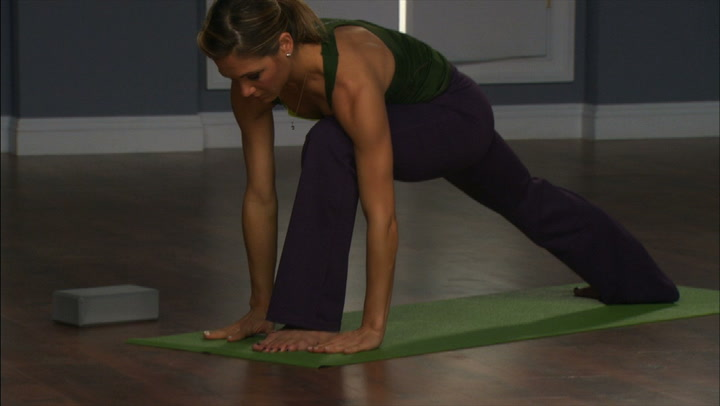 Yoga in 10 - Lunge Flow