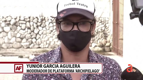 Yunior García Aguilera: Estamos decididos a hacer esto... es lo que nos toca como generación
