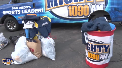 Donate all your old Chargers gear to Alpha Project & help the homeless.mp4